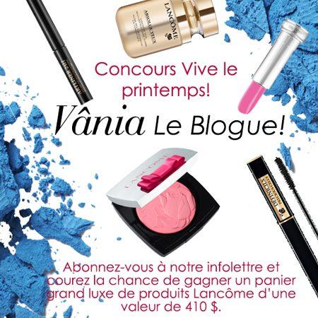 Concours Vive le Printemps !