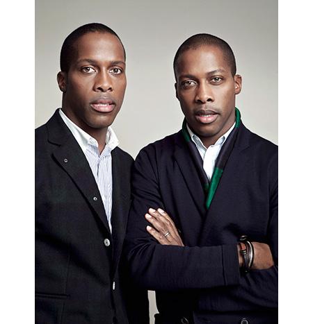 Byron et Dexter Peart – cofondateurs de WANT Les Essentiels de la Vie