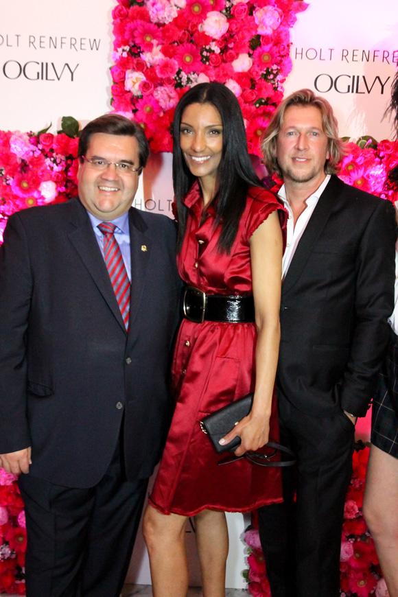 Denis Codère, Vânia Aguiar et Steeve Lapierre