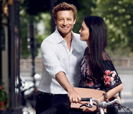 Simon Baker- Égérie du parfum Gentlemen Only Casual Chic de Givenchy