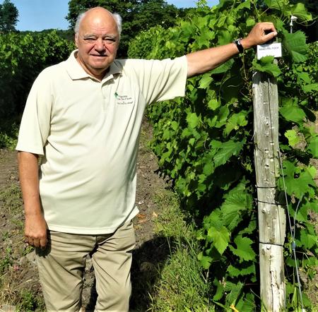 Pierre-Paul Jodoin – Propriétaire du Vignoble Clos Ste-Croix de Dunham